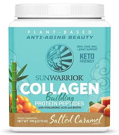 Sunwarrior Plant-Based Collagen Building Protein Peptides (Salted Caramel)