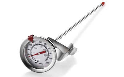 KT THERMO Deep Fry Thermometer With Instant Read