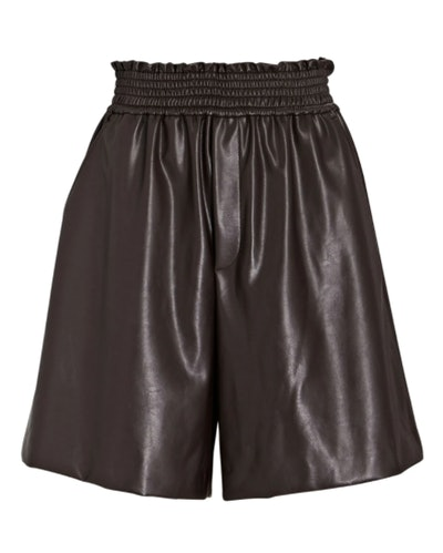 A.L.C. Kaleb Vegan Leather Shorts