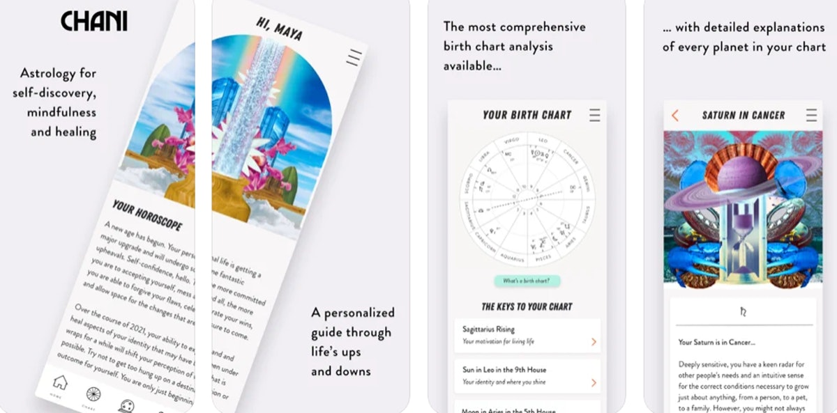 These apps created by women include a super detailed horoscope app.