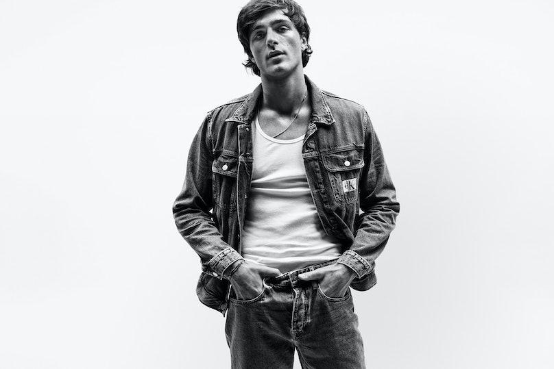 Jacob Elordi in a Calvin Klein campaign