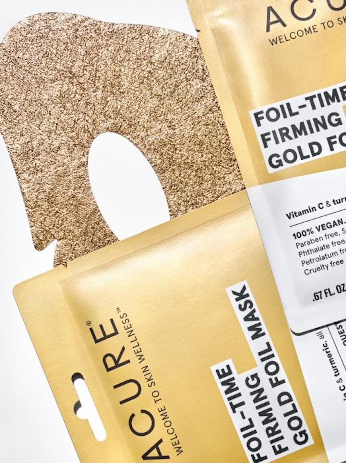 Foil-Time Firming Gold Foil Mask