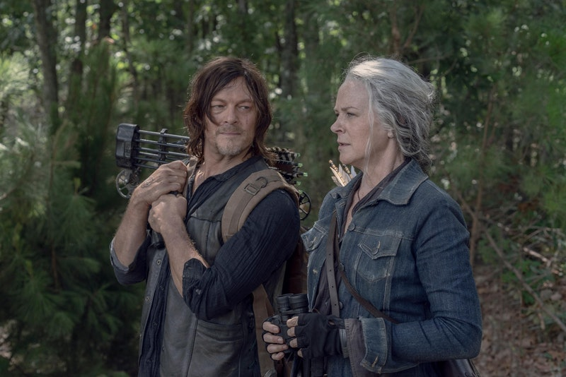 Daryl and Carol share a scene together on 'The Walking Dead' via AMC