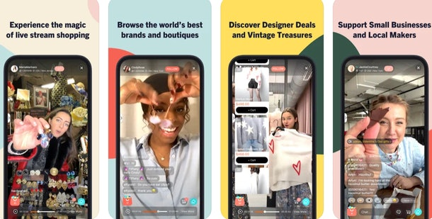 These apps created by women take shopping to the next level.