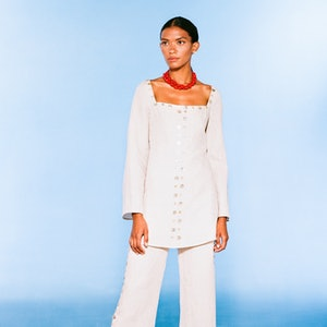 Look 16 From Staud's Spring 2021 Ready-To-Wear Collection.