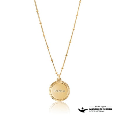 FEARLESS Gold Necklace