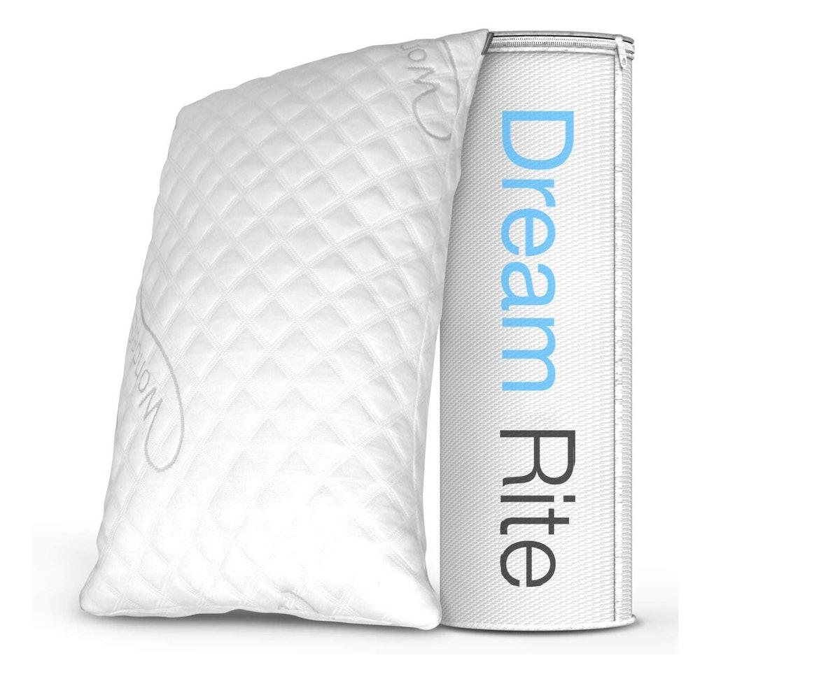Dream Rite Shredded Memory Foam Pillow, Queen