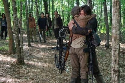 Carol and Daryl reunite after Terminus via the AMC press site