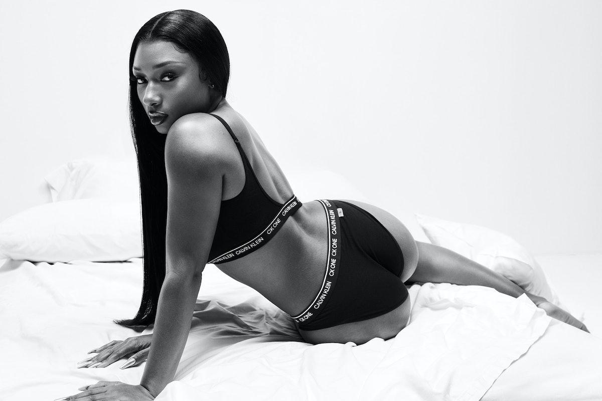 Megan Thee Stallion in a Calvin Klein campaign