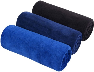 SINLAND Fast Drying Gym Towels (3 Pack)
