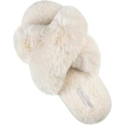 HALLUCI Cross-Band Slippers