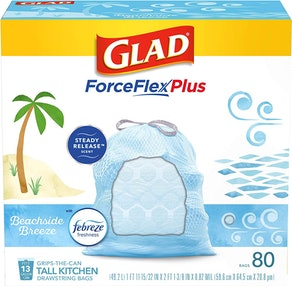 Glad Beachside Breeze Kitchen Trash Bags (80 Count)