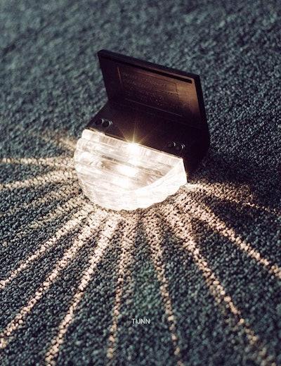 TIJNN Outdoor Solar Deck Lights