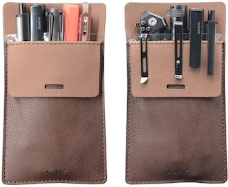 diodrio Leather Pocket Protector (2 Pack)