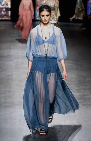 Look 85 in Christian Dior's Spring 2021 Ready-To-Wear collection.