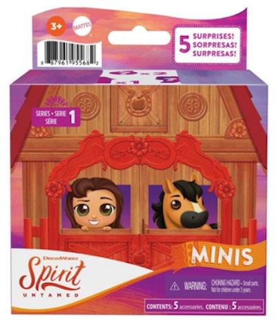 Spirit Untamed Surprise Mini Horse & Friend With 3 Accessories