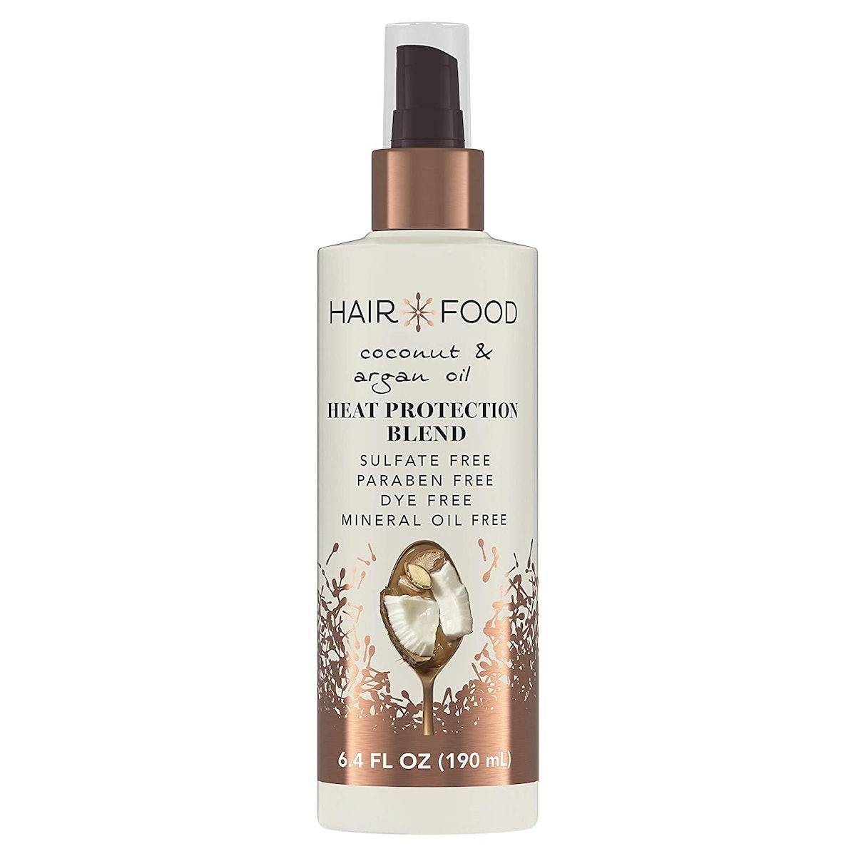 Hair Food Coconut & Argan Oil Heat Protection Blend