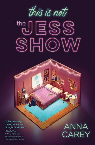 'This Is Not the Jess Show' by Anna Carey