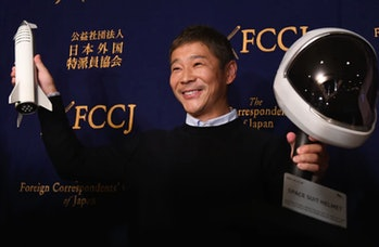 Yusaku Maezawa is going to the Moon — and you could join him.