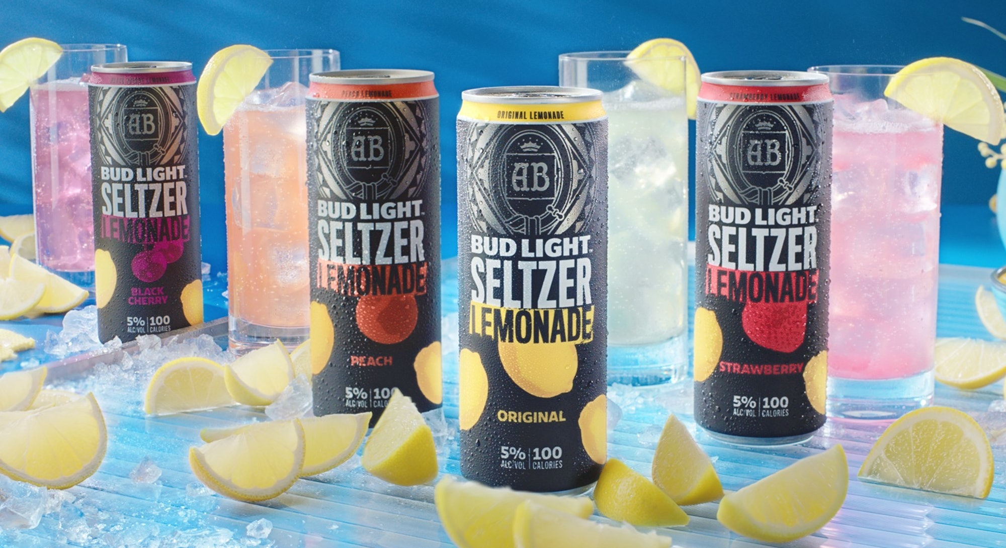 Bud Light released a line of four hard seltzer lemonades.