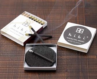 hibi Japanese Cypress Matches (8 Count)