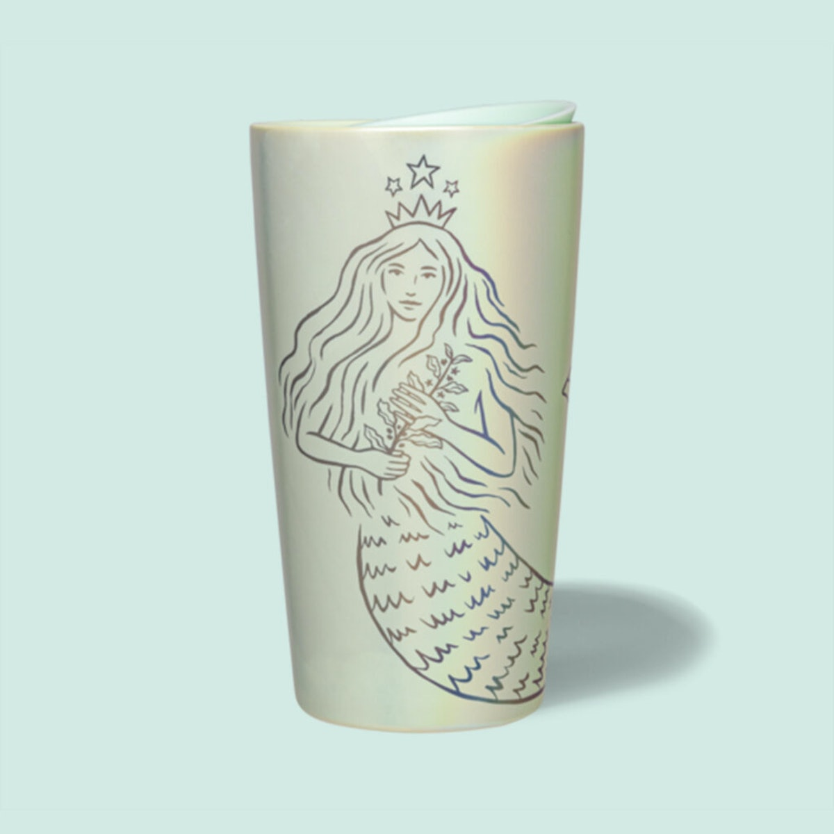 Starbucks' spring 2021 cold cups and tumblers include so many Siren-inspired designs.