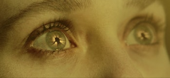 Elizabeth Olsen's eyes in WandaVision Episode 8