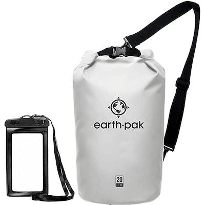 Earth Pak Roll Top Dry Bag (20 Liters)