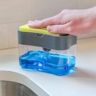 S&T INC. Soap Dispenser and Sponge Holder