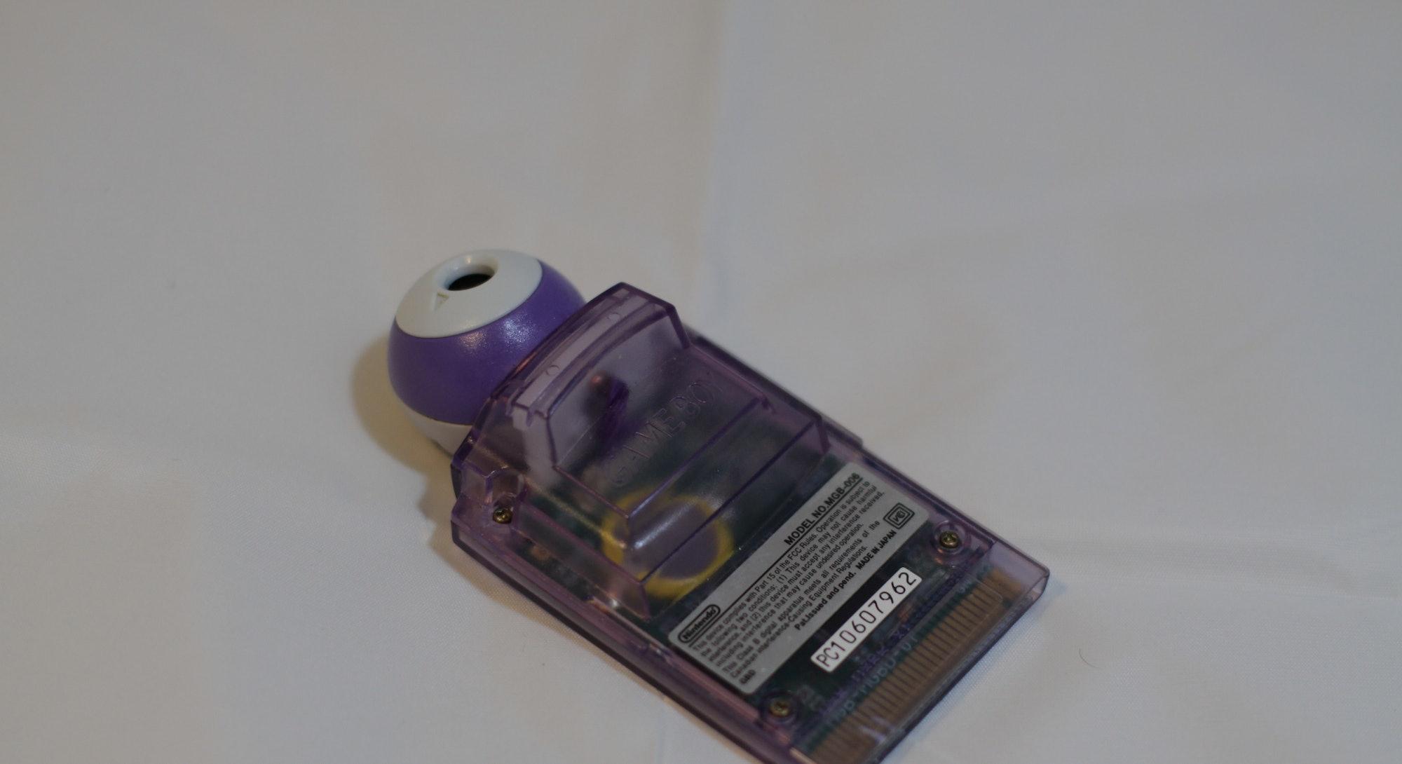 Atomic Purple Game Boy Camera owned by Herr Zatacke