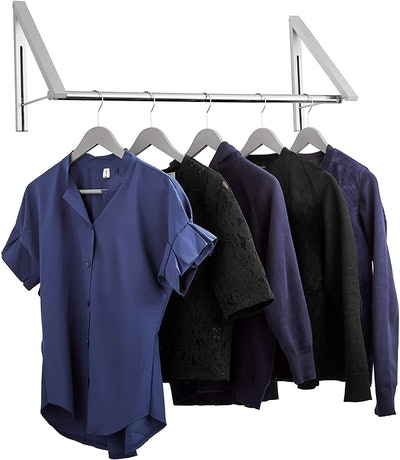 Stock Your Home Retractable Clothes Rack