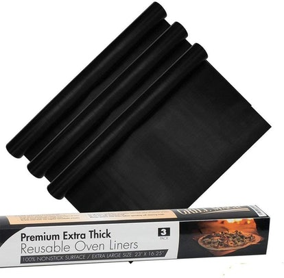 Grill Magic Non-Stick Oven Liners (3 Pack)