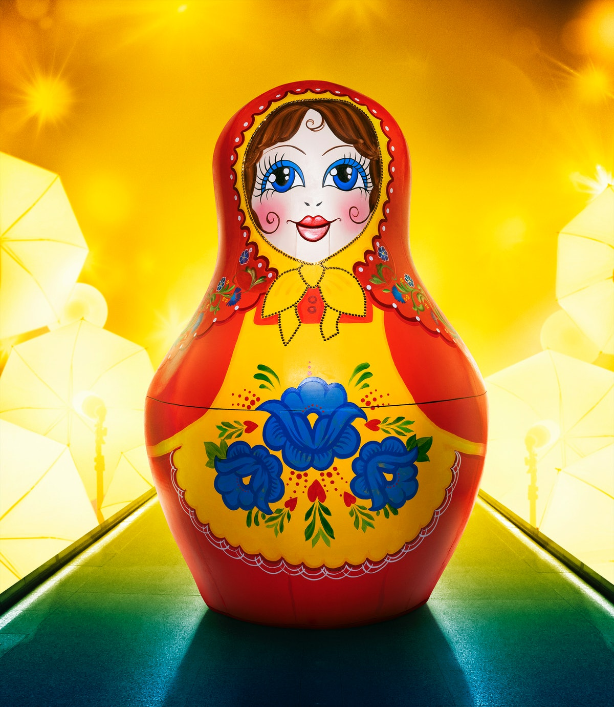 One of the Russian Dolls on The Masked Singer