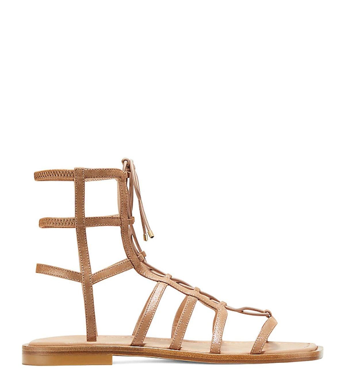 Kora Lace-Up Sandal