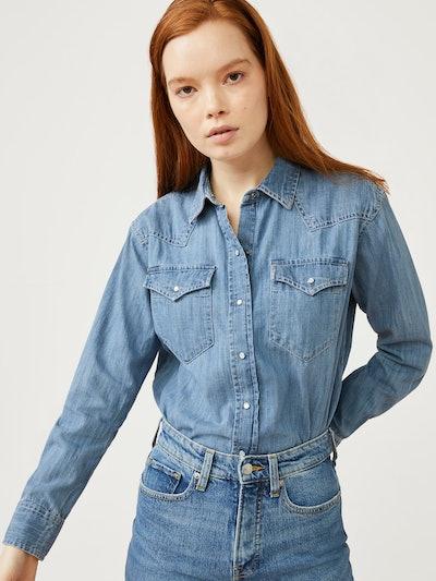 Boyfriend Western Shirt