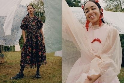Simone Rocha x H&M campaign.
