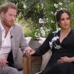 Meghan & Harry's interviewer with Oprah