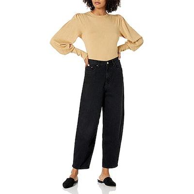 The Drop Zoe Balloon Leg Shape High-Rise Jean