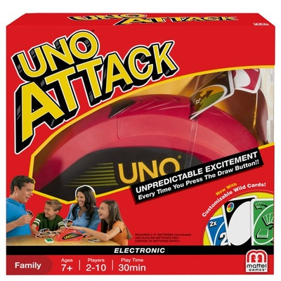 UNO ATTACK! Rapid Fire Card Game