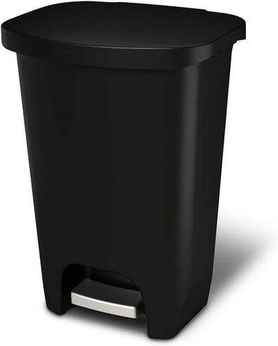 GLAD Plastic Step Trash Can With Clorox Odor Protection