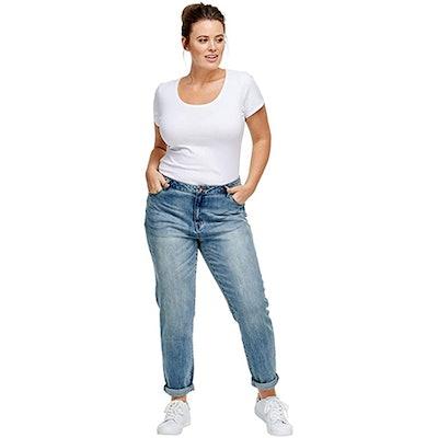 ellos Plus Size Boyfriend Jeans