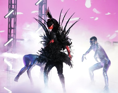 Black Swan performing on 'The Masked Singer' via FOX press site.