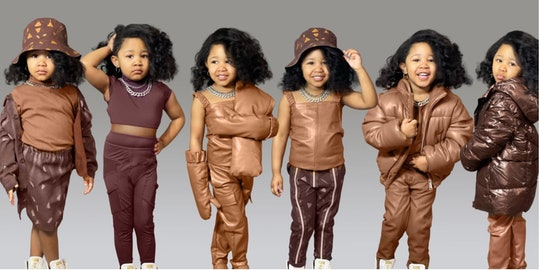 Ryleigh Madison Hampton recreates Beyoncé's Icy Park collection from Ivy Park and it's flawless!