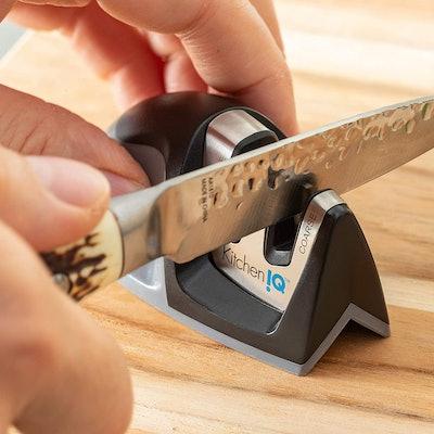 Kitchen IQ Edge-Grip Knife Sharpener