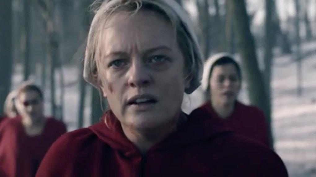 Elisabeth Moss as June in 'The Handmaid's Tale' Season 4 trailer
