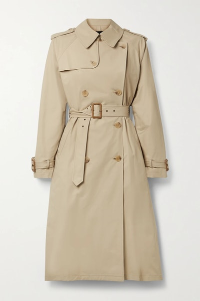 Tanner Cotton-Blend Trench Coat