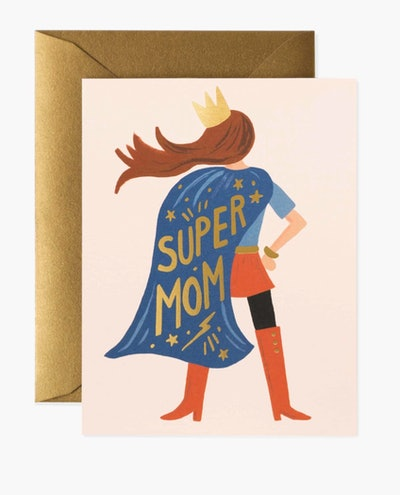 Super Mom Mother's Day Card