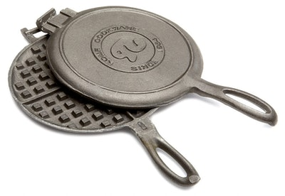 Rome Industries Old Fashioned Waffle Cast Iron