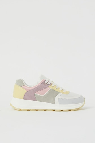 Color-Block Sneakers