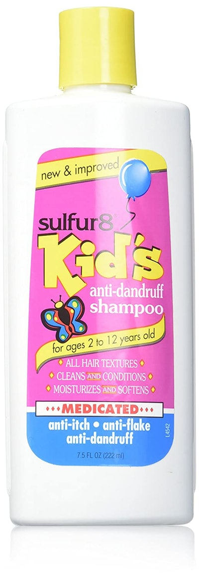 Sulfur8 Kids Medicated Anti Dandruff Shampoo (7.5 Ounces)